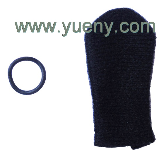 cloth mic muff with O ring for High-Wind Environment