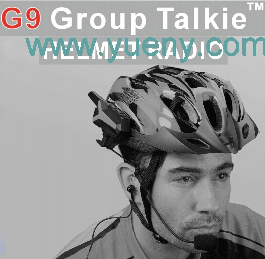 G9 Group Talkie helmet radio