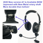 ANR aviation headset ANR AH-7000