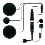helmet headset for two way radio HHR-5